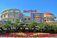 Hard Rock Cafe in Universal Orlando, Florida, USA royalty free stock images