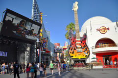 Hard Rock Cafe in Universal Hollywood Stock Photos