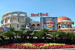 Hard Rock Cafe in Universal Orlando, Florida, USA stock image
