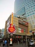 Hard Rock Cafe in Warschau stockbild