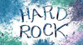 hard rock,Colorful backgrounds, artistic backdrops created digitally, Royalty Free Stock Photography