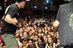 Hard rock concert Stock Photos