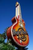 Hard Rock Cukierniana gitara Las Vegas Obrazy Stock