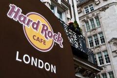 Hard Rock Cukierniany Londyński wejście Zdjęcia Stock