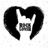 Hard rock design Stock Photography