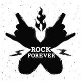 Hard rock design Royalty Free Stock Photography