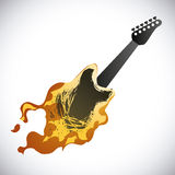 Hard rock design Stock Photography