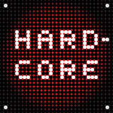 Hard rock dots Stock Images