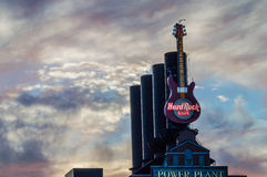Hard Rock gitara Baltimore Fotografia Stock