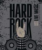 Hard rock Stock Image