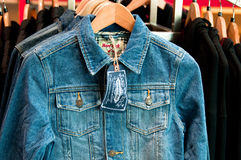 Hard Rock Jean Jacket Stock Photo