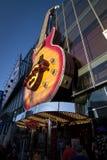 Hard Rock kawiarnia Vegas Obrazy Stock