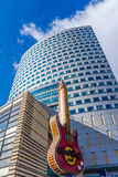 Hard Rock kawiarnia w Warszawa Fotografia Royalty Free