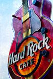 Hard rock Nashville Images stock