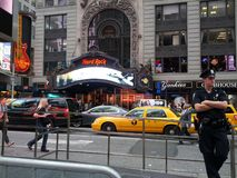 Hard Rock NY Fotografia Stock