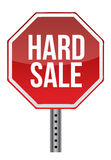 Hard sale sign Stock Photography