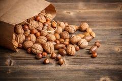Hard shell nuts Royalty Free Stock Photos