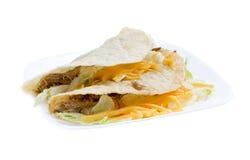 Hard shell tacos Stock Photography