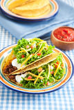 Hard Shelled Taco Royalty Free Stock Images