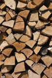 Hard and soft mix choping wood wall background stock photo