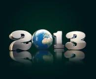 Hard Steel  cool 2013 with nice Globe Stock Photo