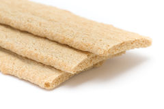 Hard tack. Isolated on the white background royalty free stock photography