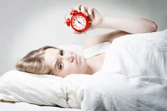 Hard to get up Royalty Free Stock Photo