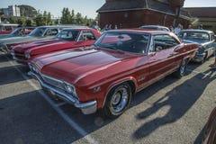 Hard-top 1966 Chevrolet Impala SS Lizenzfreie Stockfotografie