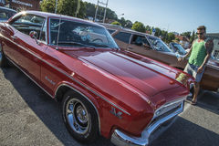 Hard-top 1966 Chevrolet Impala SS Stockbild