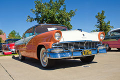Hard-top 1956 de Ford Victoria 2dr Images stock