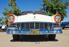 Hard top 1956 di Ford Victoria 2dr Fotografie Stock