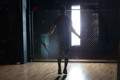 Hard training. In the gym Royalty Free Stock Photos
