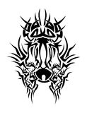 Hard Tribal. Digitally designed art Royalty Free Stock Images