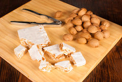 Hard turron Royalty Free Stock Image