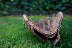 Hard Used Baseball Glove Stock Photography