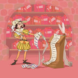 Hard Valentine's Day of Don Juan Stock Photo