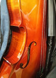 Hard Wood 4/4 Full size Cello. Solid Hard Wood 4/4 Full size Cello Royalty Free Stock Photo
