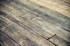 Hard wood plank floor Royalty Free Stock Images