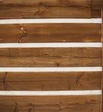 Hard Wood Siding Stock Image