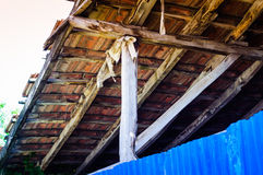 Hard Wooden Roof Royalty Free Stock Photo