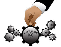 Hard work Stock Images