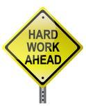 Hard Work Ahead Royalty Free Stock Image