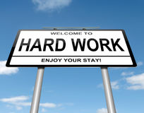 Hard work concept. Stock Images
