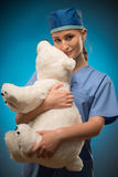 Hard work of doctors Royalty Free Stock Photo