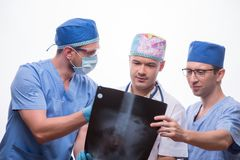 Hard work of doctors Stock Photography