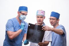 Hard work of doctors Royalty Free Stock Photos