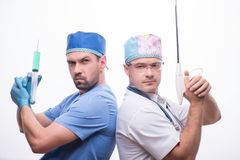Hard work of doctors Royalty Free Stock Photography