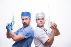 Hard work of doctors Stock Photo