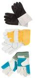 Hard work gloves Royalty Free Stock Image