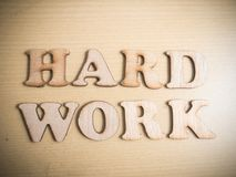 Hard Work Hardwork, Motivational Words Quotes Concept. Hard Work Hardwork, business motivational inspirational quotes, wooden words typography lettering concept royalty free stock images